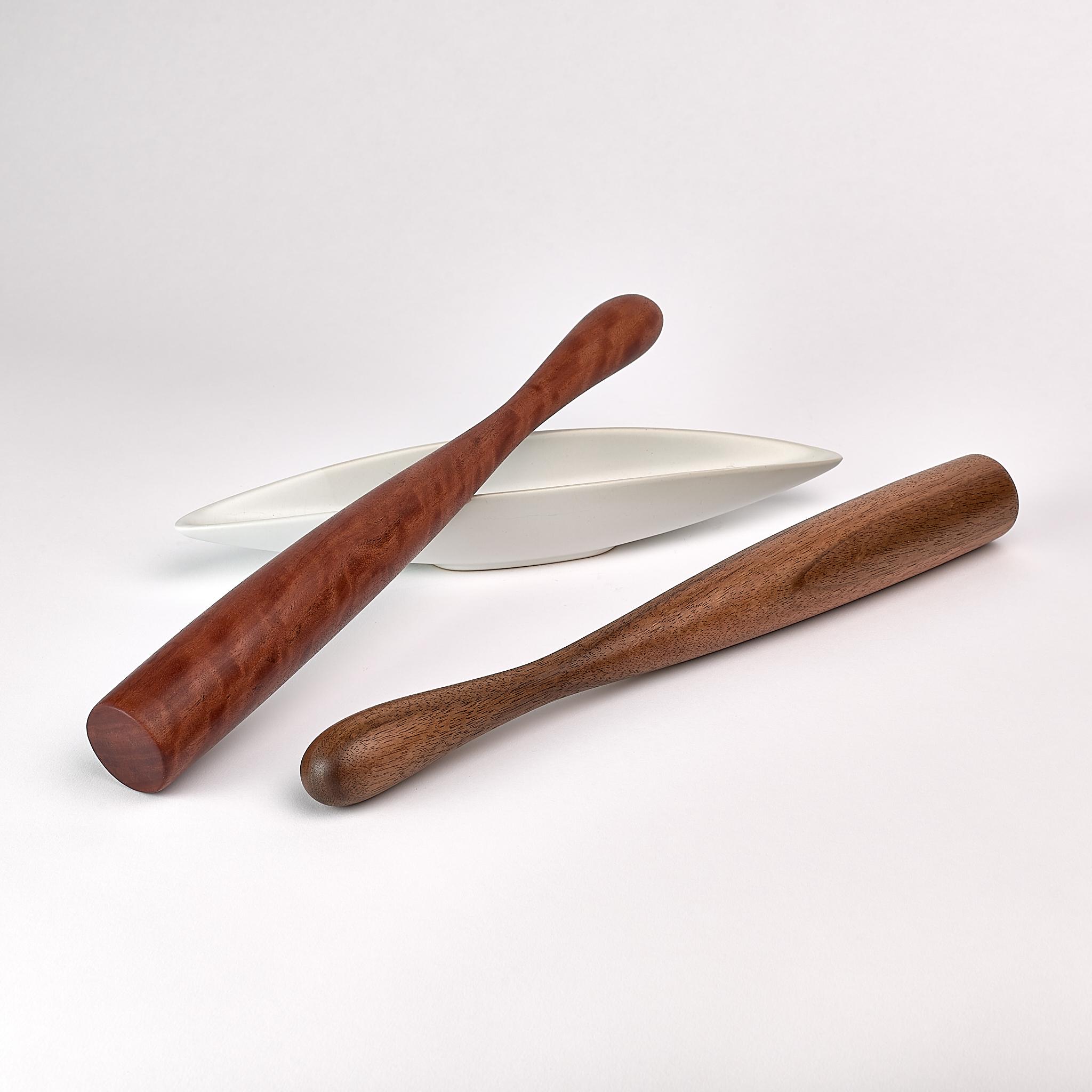 muddler 3640 - large muddler muddle stick handmade by Bob Gilmour, Gilmour Design, Auastralia